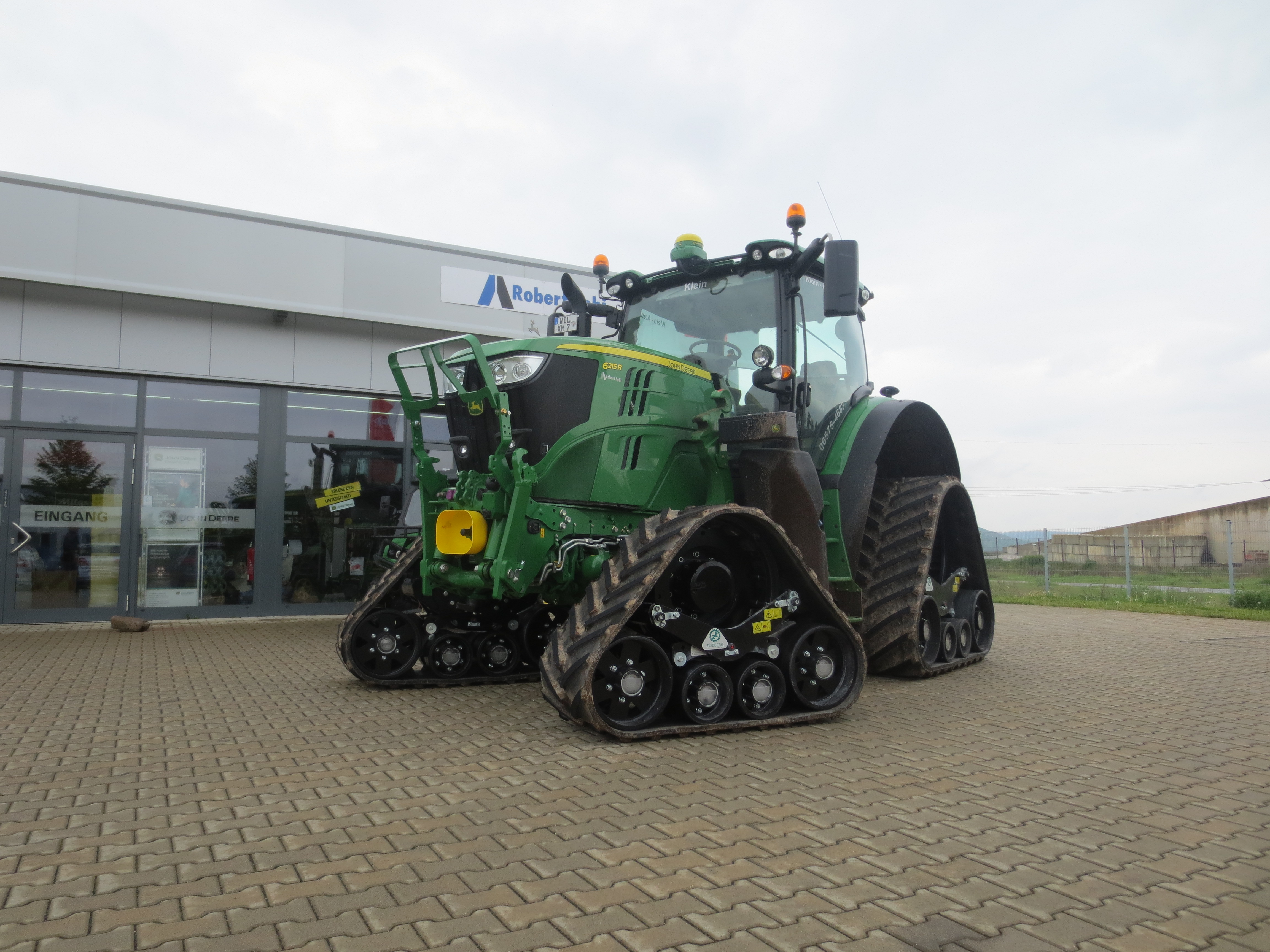 Tractor Front Track : New track system for john deere r large frame zuidberg