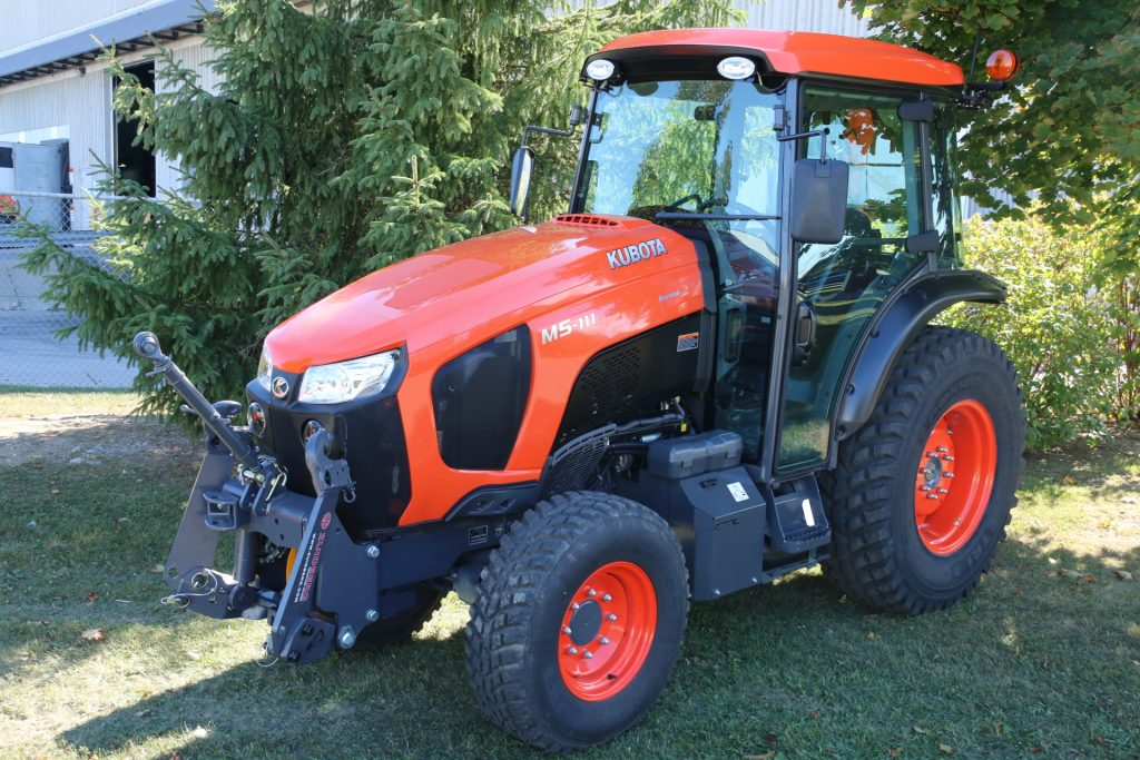 New Front System For Kubota M4n And M5n Series Narrow